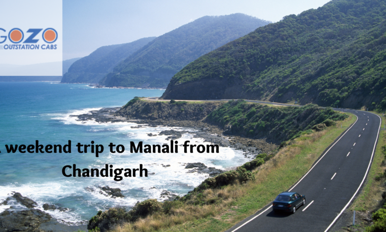 A weekend trip to Manali from Chandigarh :