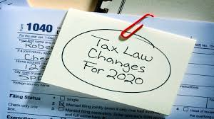 Top Five Tax Changes That Happened in 2020