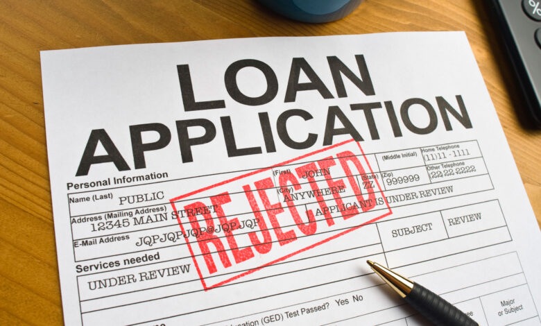 Reasons Your Loan Request Was Rejected