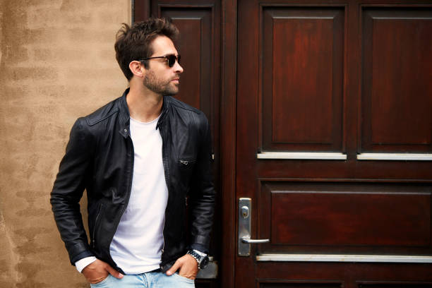 A Complete Guide To Men's Leather Jacket Outfits